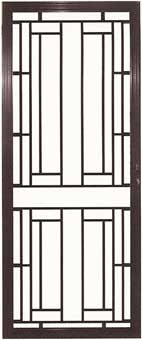 SA8/5 Hinged Aluminium Decorative Door